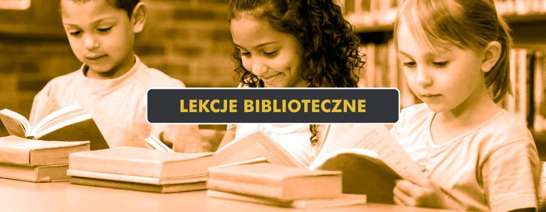 Lekcje Biblioteczne dla dzieci